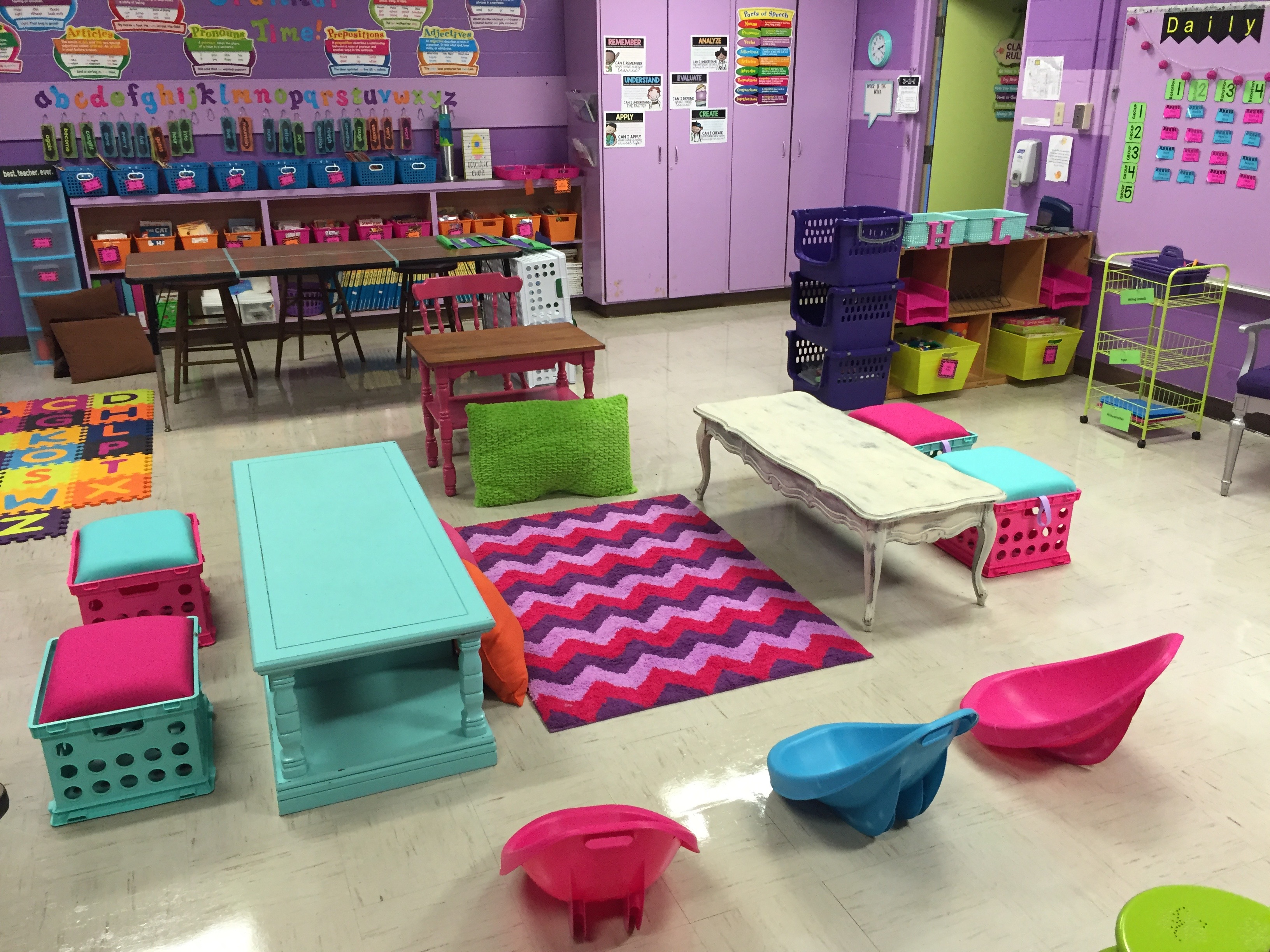Classroom Grant Ideas ~ How to crate seats tales of an accidental teacher